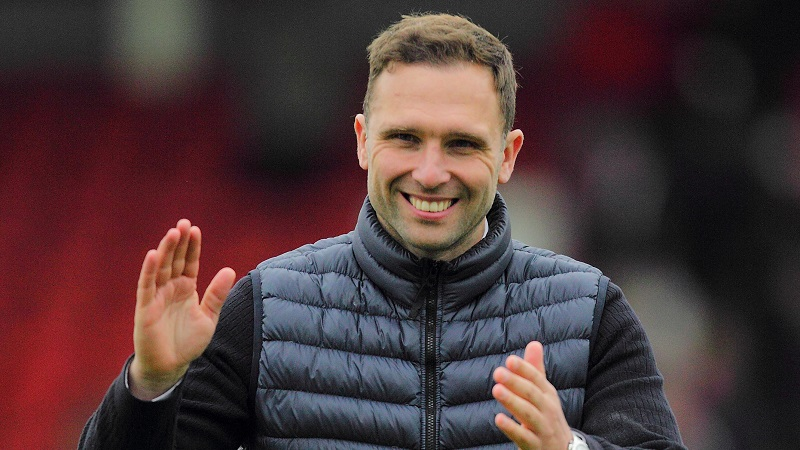Harriers boss John Eustace